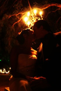 Fire Garden Wedding