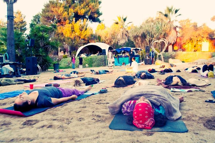 Yoga at The Fire Garden